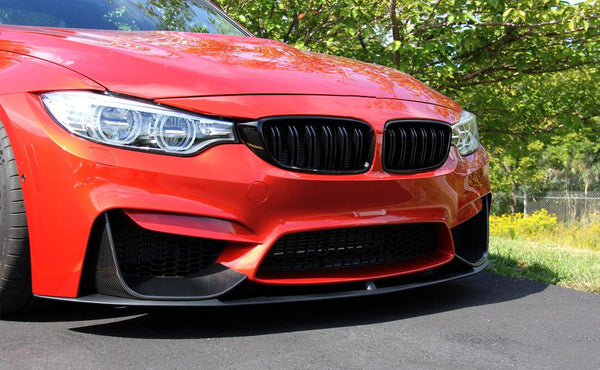 Front lip Performance Type 3-piece / set BMW M3 F80 F82 F83 M4