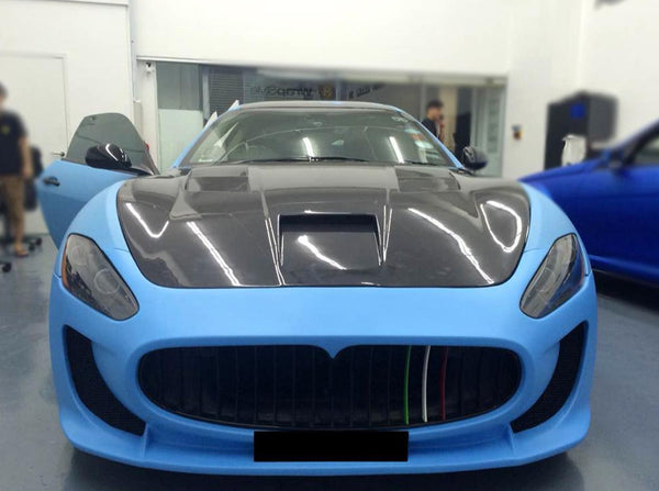 carbon fiber engine hoods GT car fit for maserati GT MC style