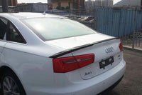 AUDI A6 C7 S6 Design Carbon Diffuser fit for A6 Standard Bumper non Sline 13up