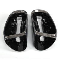 1Pair Carbon Side Mirror Cover for Mercedes Benz 98-01 S-Class W220 (Fits:W220 )