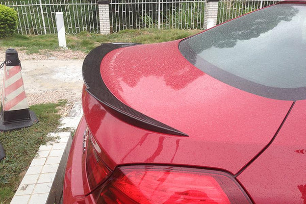 Carbon Fiber Rear Trunk Spoiler Fit for BMW F06 F12 Gran Coupe 12-16