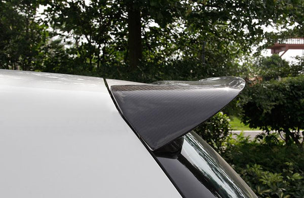 Carbon fiber rear roof spoiler fit for golf VI MK6 6 GTI R20 only REVOZPORT style