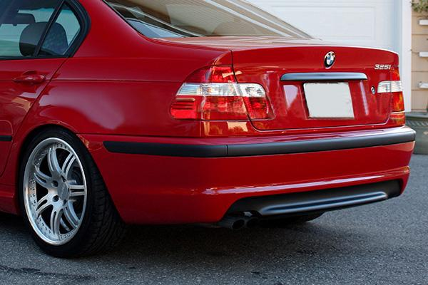 BMW E46 M-Tech Carbon Rear Diffuser