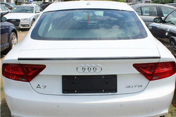 a7 carbon fiber spoiler rear wing fit for audi 2013