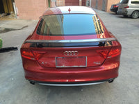 2010-2014 A7 / S7 / RS7 TTS Style carbon fiber Rear Trunk Wing Spoiler for AUDI( fit for Model: A7 / S7 / RS7 (All Models )