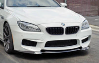 Carbon Fiber Front Lip Spoiler For BMW F06 F12 F13 M6 2014
