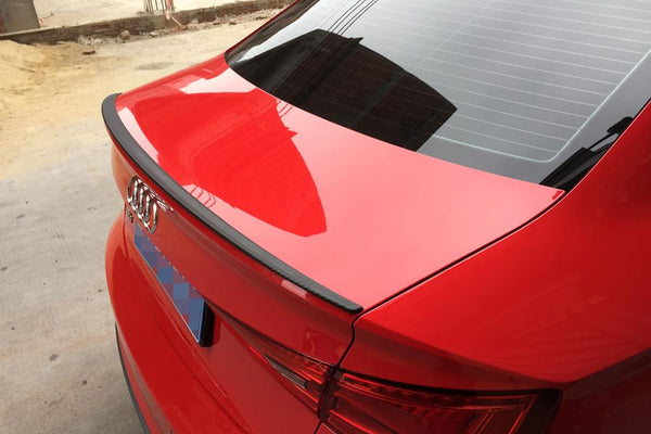 Audi A3 S3 Rear Trunk Lip Spoiler Wing