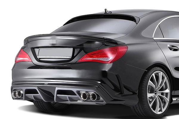 C117 W117 CLA250 CLA45 CLA CARBON FIBER SPOILER WING FIT FOR MERCEDES BENZ