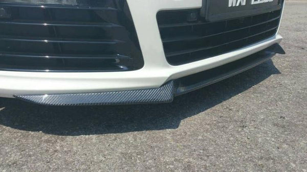 Golf 6 R20 front carbon lip for R20 Bumper