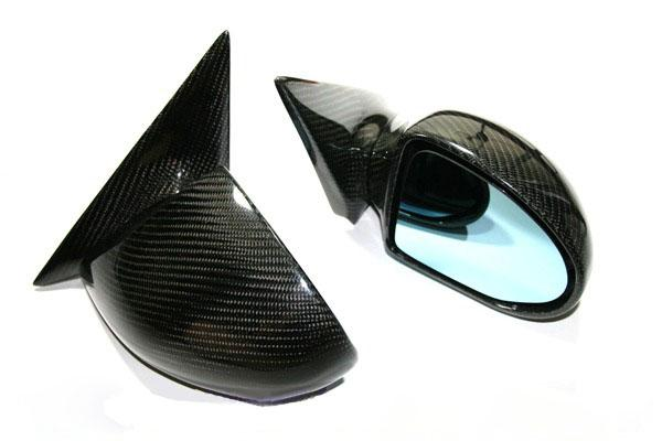 BMW E46 / M3 Full Replacement Carbon Fiber Mirror