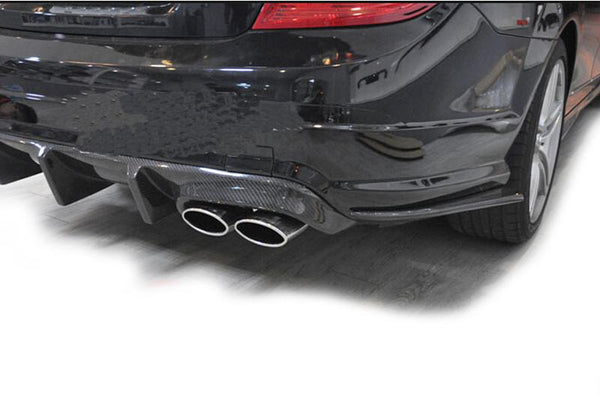 Mercedes Benz C-Class Carbon Fiber Side Skirt Flaps