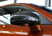 Replacement Carbon Fiber Rearview Mirror Covers for AUDI TT 8J TTS 08-14 (fits: TT TTS)