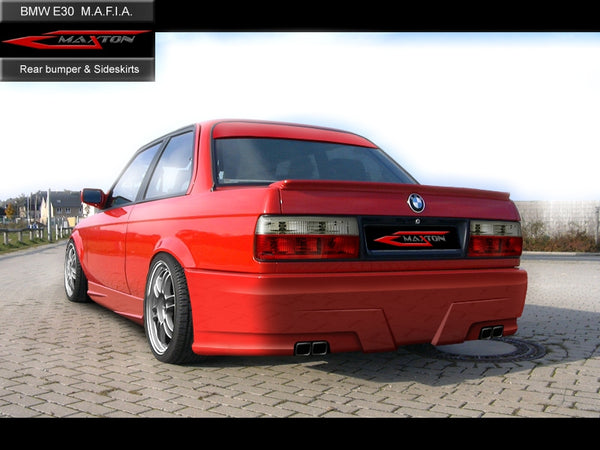 REAR BUMPER BMW 3 E30 MAFIA
