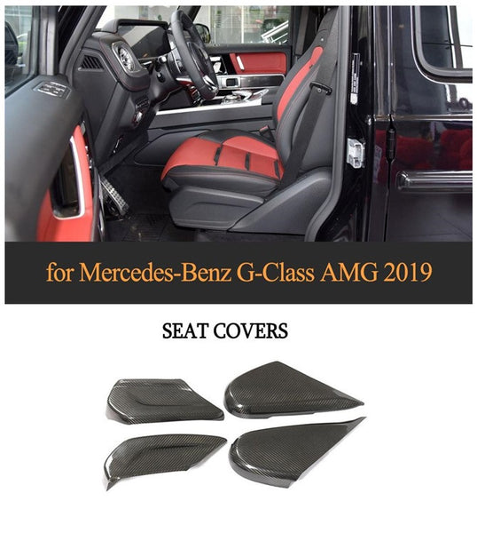 for Mercedes-Benz G-Class AMG Carbon Fiber Seat Covers 2019