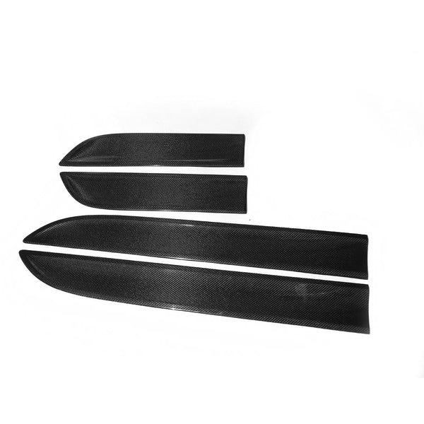 Macan Carbon fiber Side Door fender decoration trim for Porsche 4pcs/set