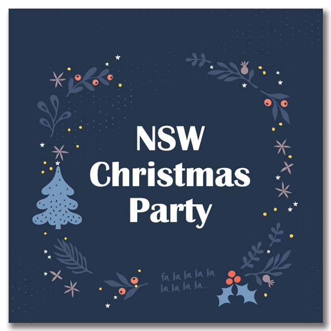 ABA NSW Booksellers and Publishers 2019 Christmas Party