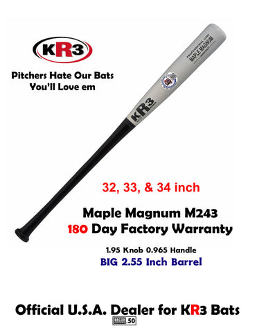 New High Density Maple Magnum C243 Premium Maple 6 Month Factory Warranty
