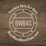 B-45 Yellow Birch Professional Baseball Bats Made in Canada from the Best Canadian Wood