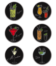 Charger l'image dans la galerie, Magnets Cocktails drinks | Aimants