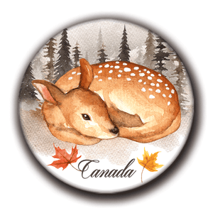 Magnets Gifts Souvenirs Canada Animals | Aimants Canada