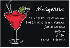 Aimants | Magnets | Cocktails recettte Margarita