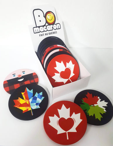 Coasters souvenirs gifts Canada