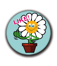 Charger l'image dans la galerie, Magnets | Flowers of happiness | Like