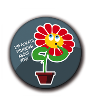 Charger l'image dans la galerie, Magnets | Flowers of happiness | I'm always thinking about you