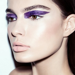 Festival Makeup Trend 3 Bold Purple Eyeshadow