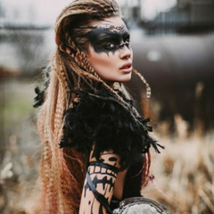 Festival Makeup Trend 5 you do you warrior
