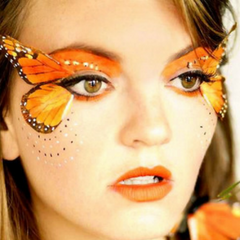 Festival Makeup Trend 5 - you do you with butterflys