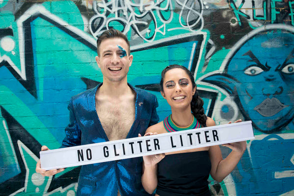 No Glitter Litter Movement - Glitterazzi Biodegradable Glitter