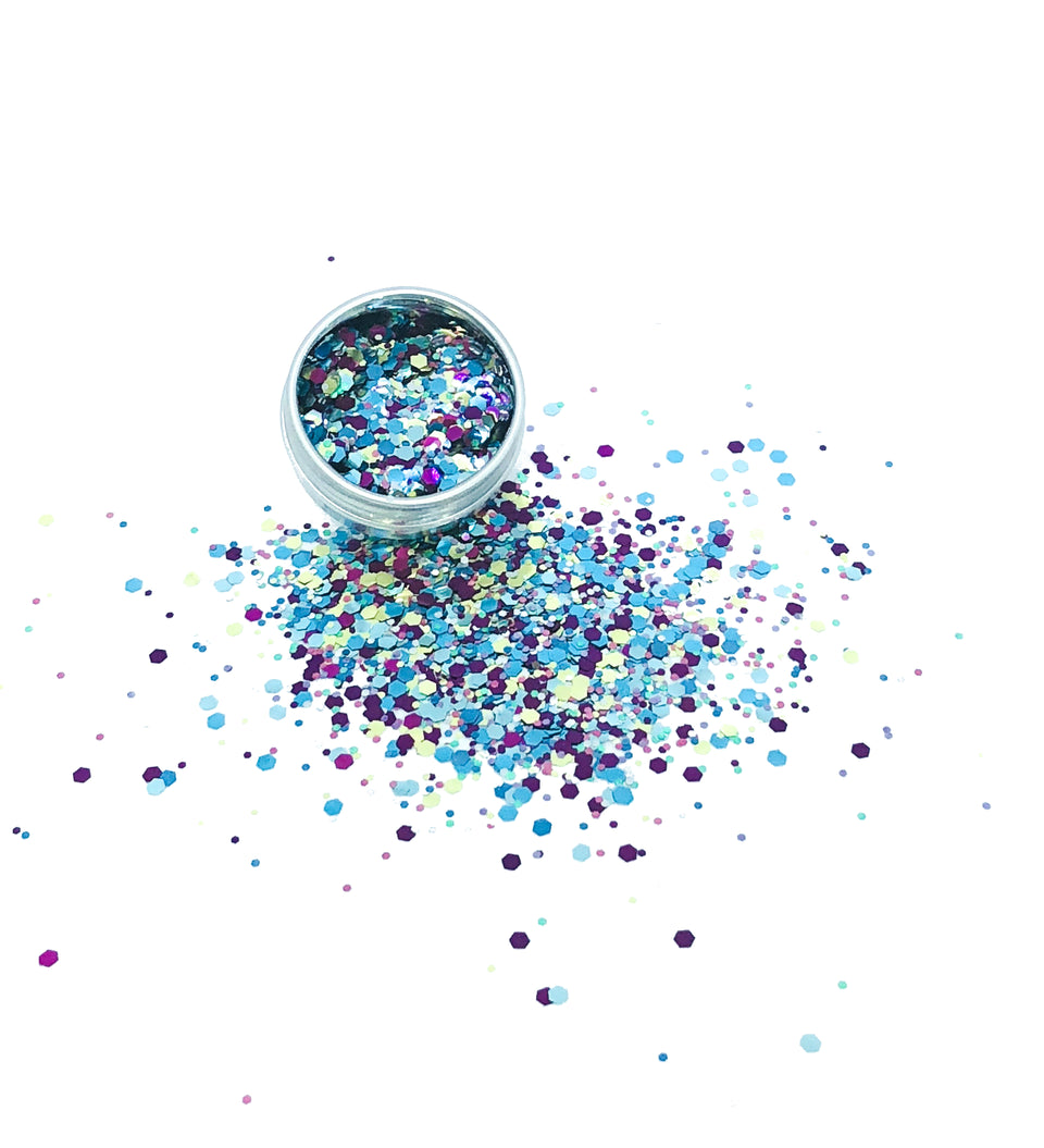 100s & 1000s - loose biodegradable glitter mix - Glitterazzi Biodegradable Eco-Friendly Glitter