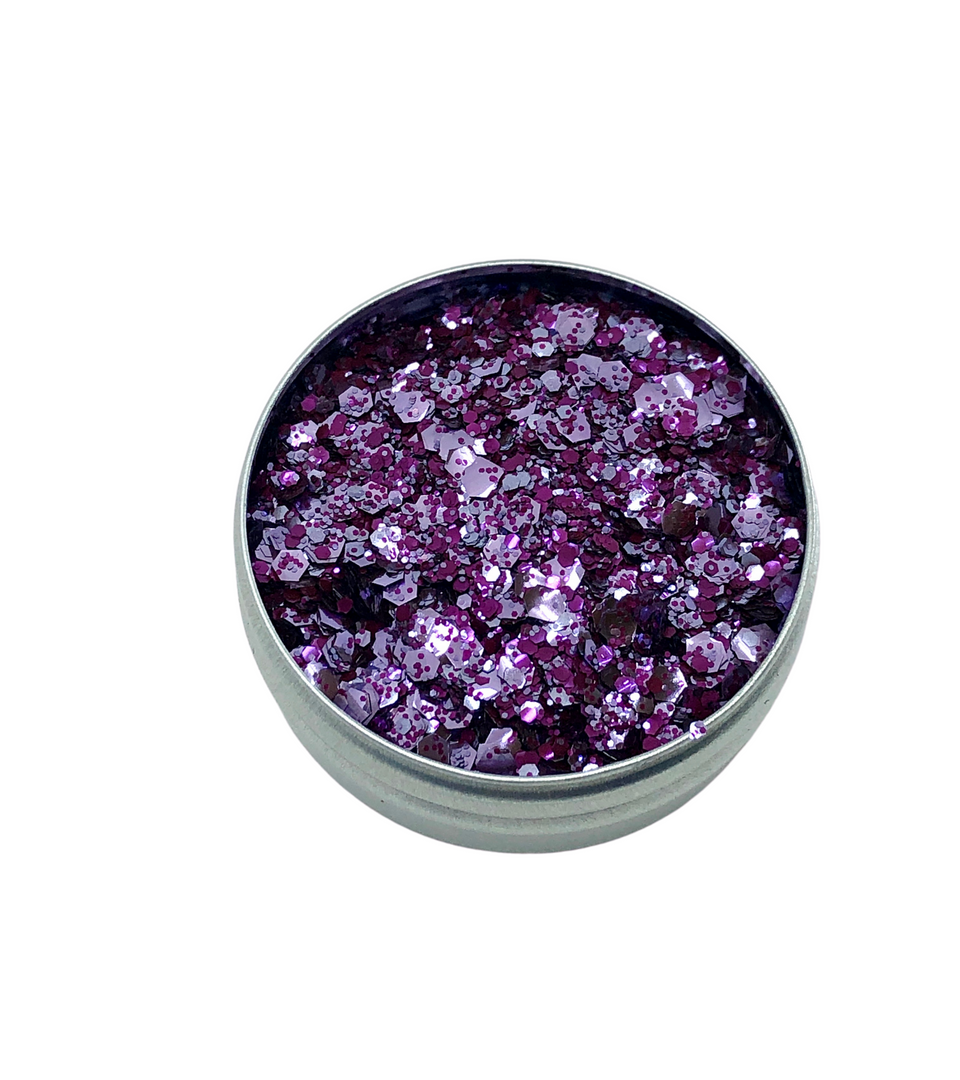 Wear It Purple - loose biodegradable glitter mix