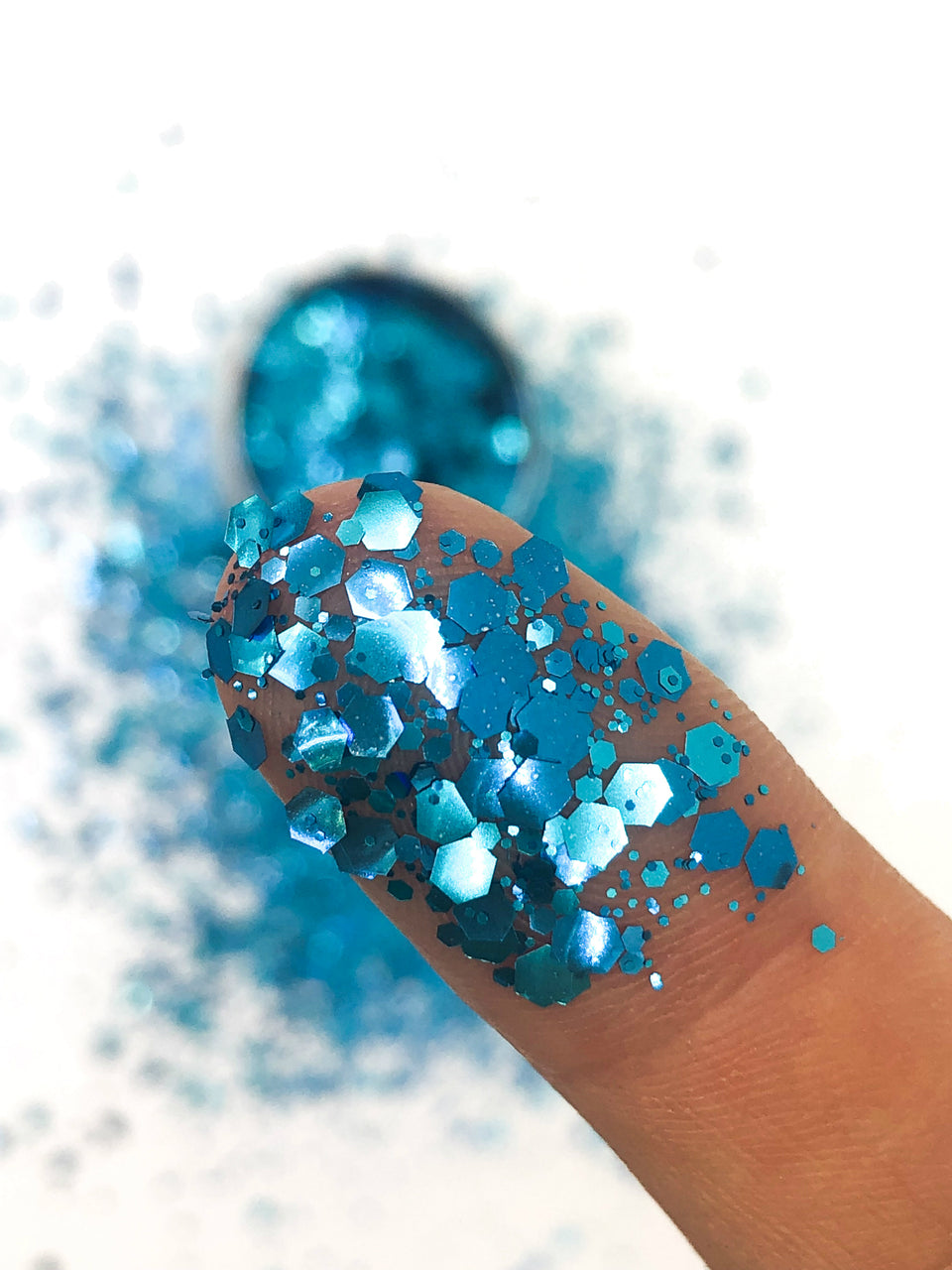 Adventurous Bluebird - loose biodegradable glitter mix - Glitterazzi Biodegradable Eco-Friendly Glitter