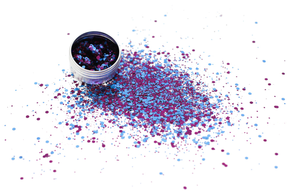 Galaxy Kat - loose biodegradable glitter mix - Glitterazzi Biodegradable Eco-Friendly Glitter