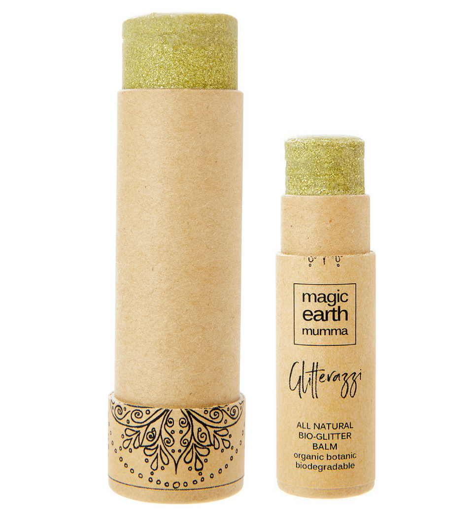 Gold Shimmer Balm - Glitterazzi Biodegradable Eco-Friendly Glitter