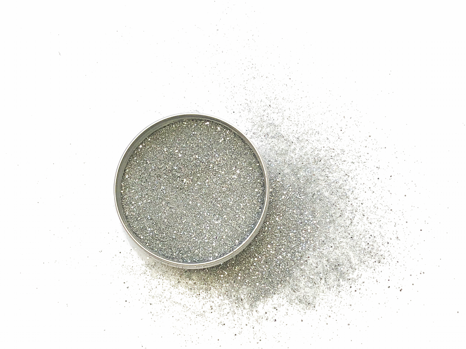 Silver Shine - Silver Casual Glitter - Glitterazzi Biodegradable Eco-Friendly Glitter