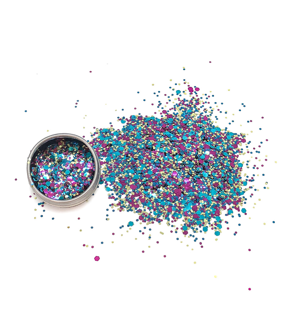 Sweet Sorority - loose biodegradable glitter mix - Glitterazzi Biodegradable Eco-Friendly Glitter