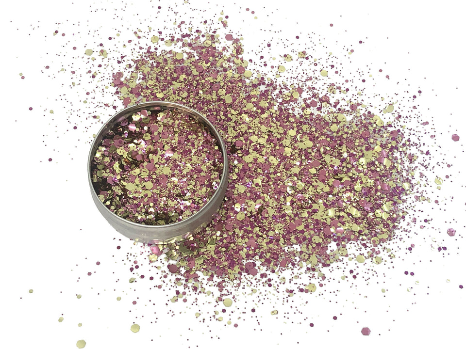 Utopia Extreme - loose biodegradable glitter mix - Glitterazzi Biodegradable Eco-Friendly Glitter