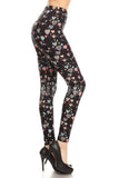 Floating Hearts, Adult Leggings - Nimbus Apparel Co., leggings, tights, girls clothing, Korean, plus size, one size, colorful, comfortable, cute, unique, fun, adorable