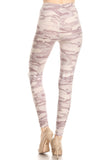Gray Camo, Adult Leggings - Nimbus Apparel Co., leggings, tights, girls clothing, Korean, plus size, one size, colorful, comfortable, cute, unique, fun, adorable