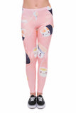 Happy Sushi, Adult Leggings - Nimbus Apparel Co., leggings, tights, girls clothing, Korean, plus size, one size, colorful, comfortable, cute, unique, fun, adorable