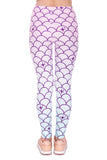 Mermaid Tail, Adult Leggings - Nimbus Apparel Co., leggings, tights, girls clothing, Korean, plus size, one size, colorful, comfortable, cute, unique, fun, adorable