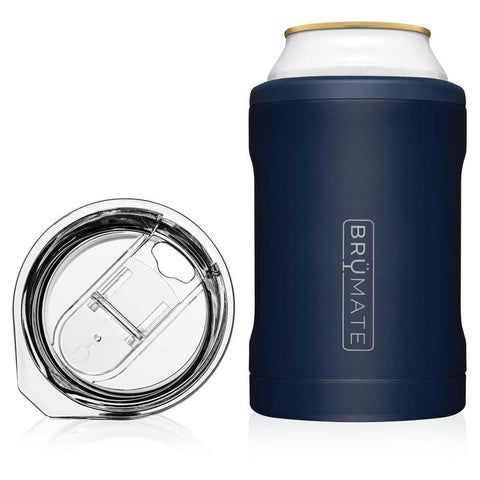 BrüMate Hopsulator Duo 2-in-1 | Matte Navy (12oz cans/tumbler)