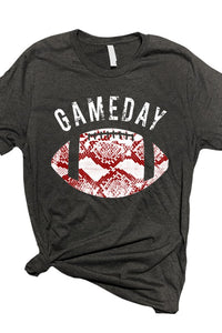Gameday Snakeprint Graphic Tee