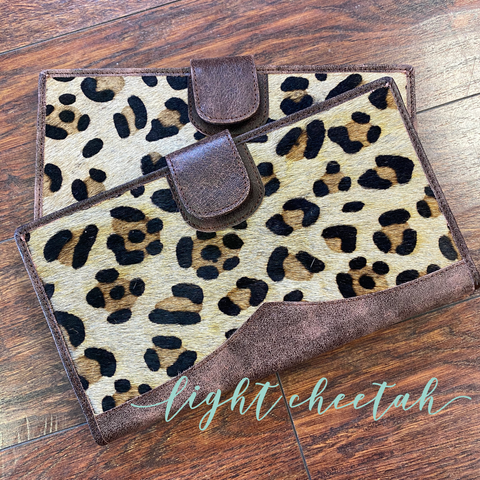 Leopard Genuine Leather and Hide Wallet