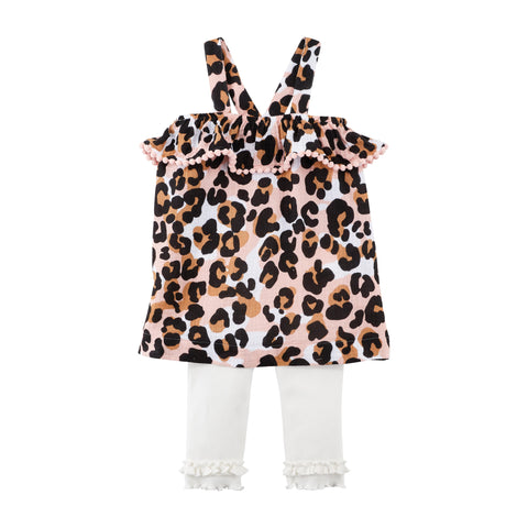 Mud-Pie Leopard Tunic and Capri