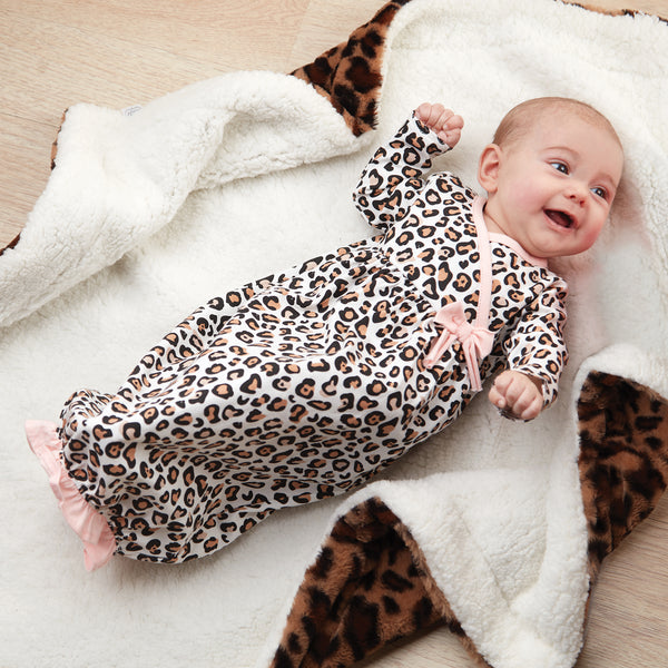 Mud-Pie Leopard Gown
