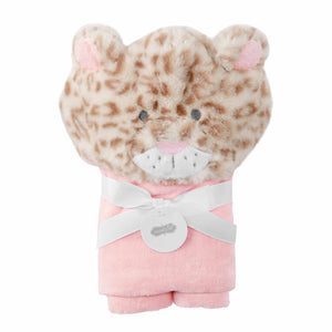 Mud-Pie Leopard Baby Hooded Towel